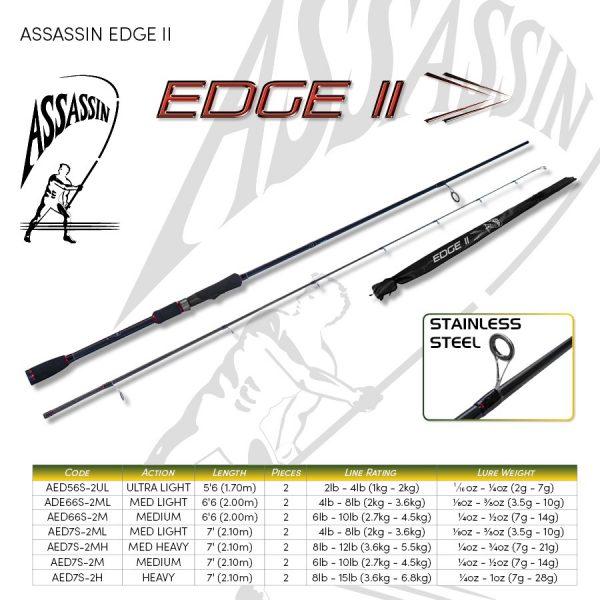 ASSASSIN EDGE II