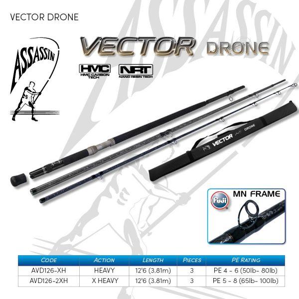 ASSASSIN VECTOR DRONE