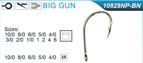 Mustad 10829 Big Gun
