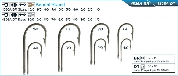 Mustad 4826T Kendal Round