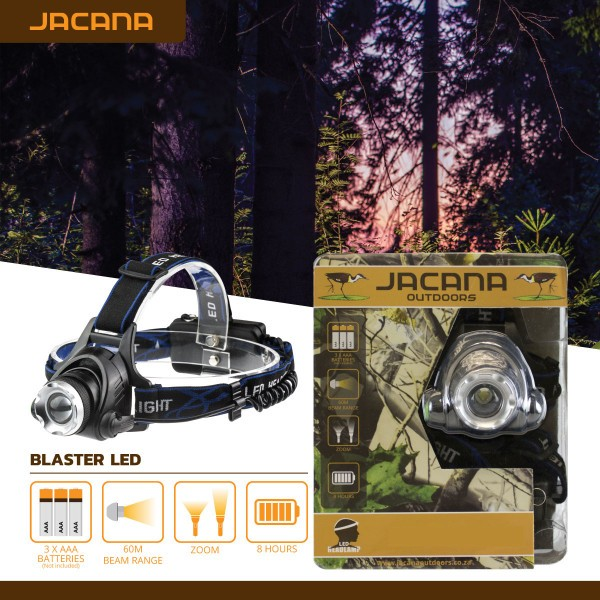 HEADLAMP JACANA BLASTER LED 3X AAA