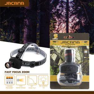 HEADLAMP JACANA FAST FOCUS ZOOM LED 3X