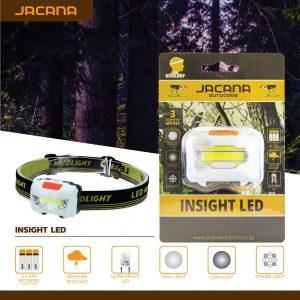 HEADLAMP JACANA INSIGHT LED 3X AAA