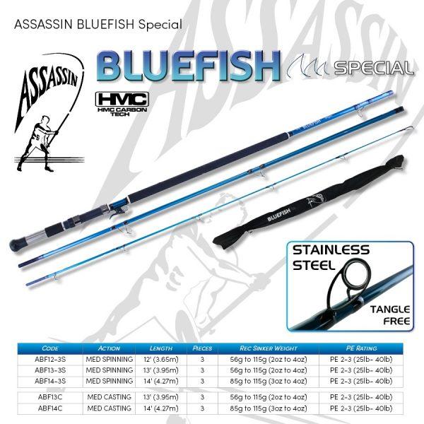 ASSASSIN BLUEFISH CASTING
