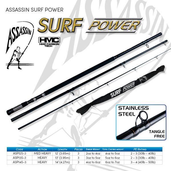 ASSASSIN SURF POWER